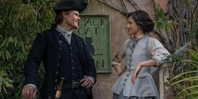 Outlander    Unknown data from Starz Play series and Netflix    spoiler