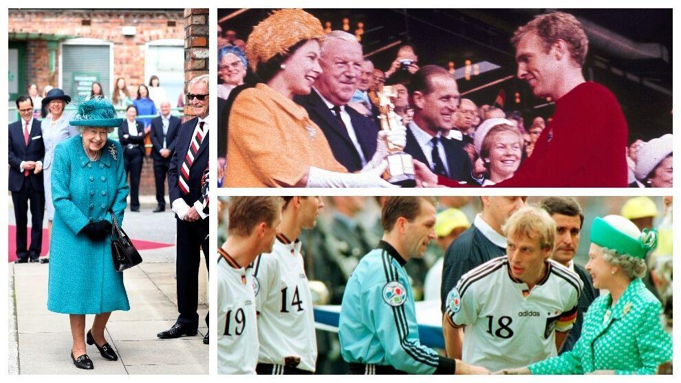 Euro 2021: Elizabeth II and football: goalkeeper steps, coronation and 1953 FA Cup, hands Moore, Cesc...