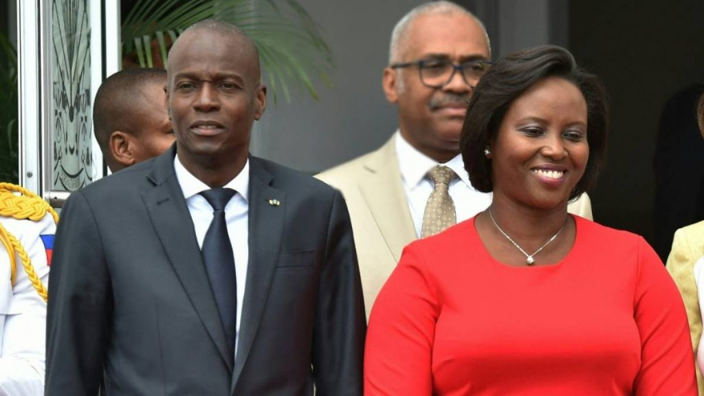 Martin Moyes, widow of the president of Haiti spreads the audio