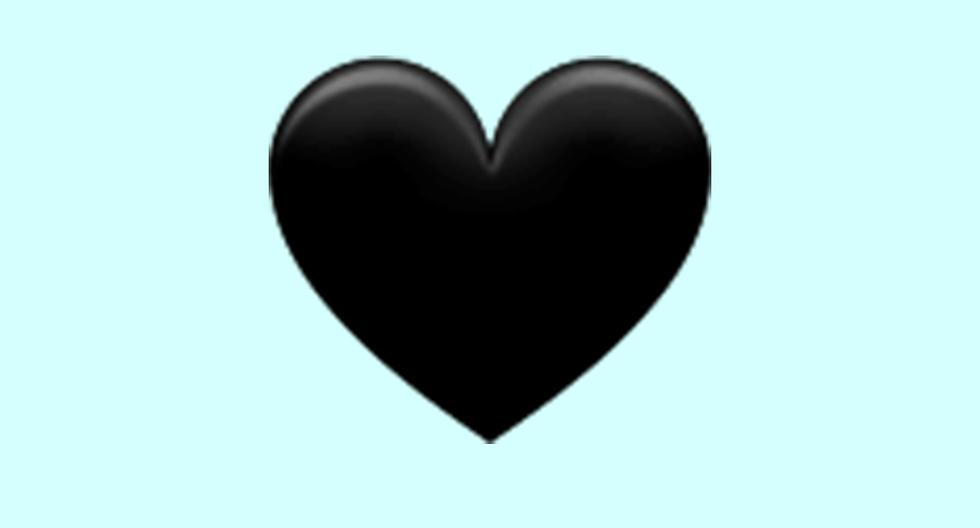 WhatsApp |  Does the black heart emoji mean |  black heart |  Meaning |  Applications |  Applications |  Smartphone |  Mobile phones |  trick |  Tutorial |  viral |  United States |  Spain |  Mexico |  NNDA |  NNNI |  SPORTS-PLAY