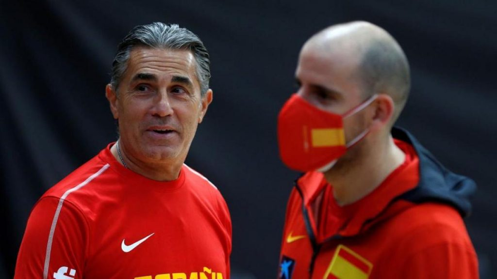 The Spanish basketball team will face the United States in Las Vegas
