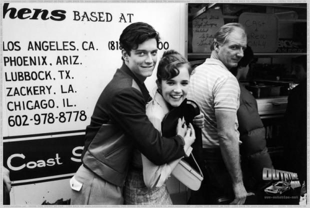 """Eric Stoltz and Leah Thompson are out of the group """"Back to the future"""".  Photo: BTTF.com"""