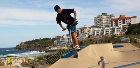 Sydney, Australia skatepark