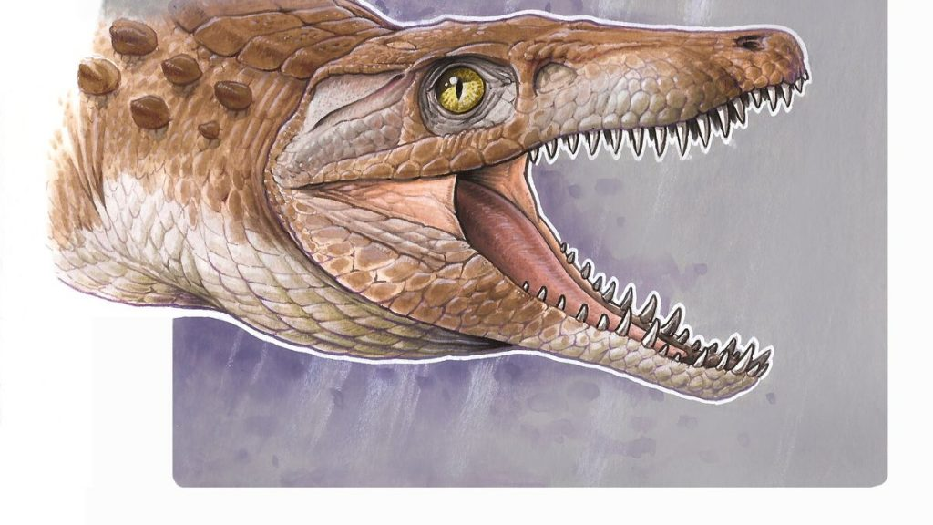 This was the grandfather of crocodiles