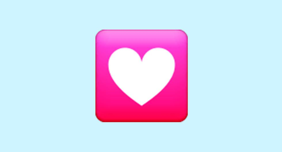 WhatsApp    Does the trapped heart emoji mean    heart decoration    Meaning    Applications    Applications    Smartphone    Mobile phones    trick    Tutorial    viral    United States    Spain    Mexico    NNDA    NNNI    Spor-Play