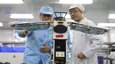A small particle accelerator is being developed in China that