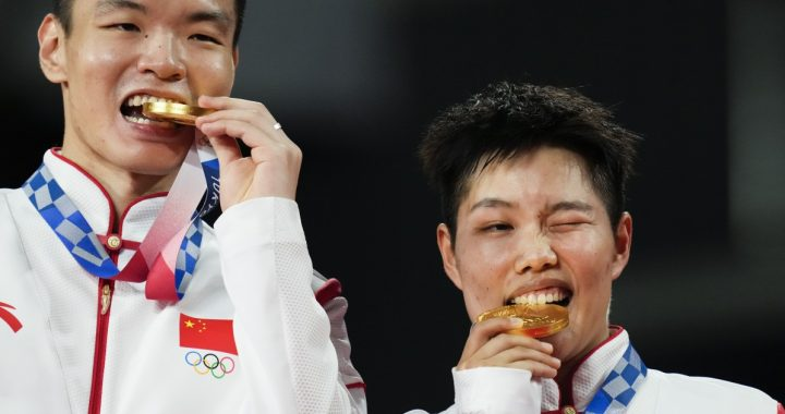China and Japan finished the first week ahead of the United States in the medal table in Tokyo