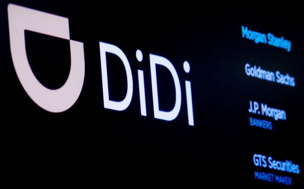 Didi.  Withdrawal of the app in stores in China may affect revenue