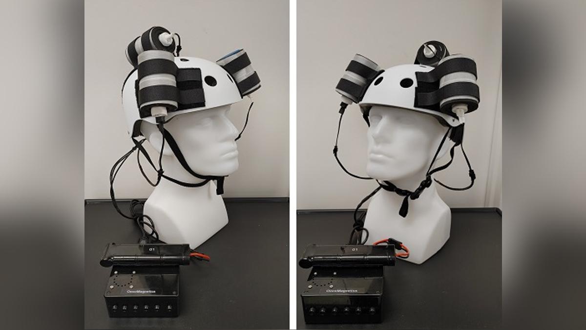 Helmet tumor