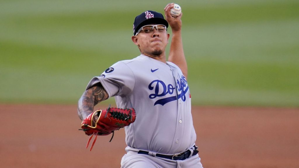 Finally, Mexico's Julio Urillas' 10th victory arrived, when the Dodgers beat the Nationals