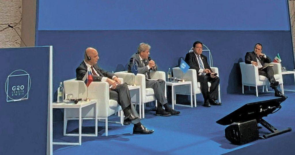G20 supports global minimum tax of 15%
