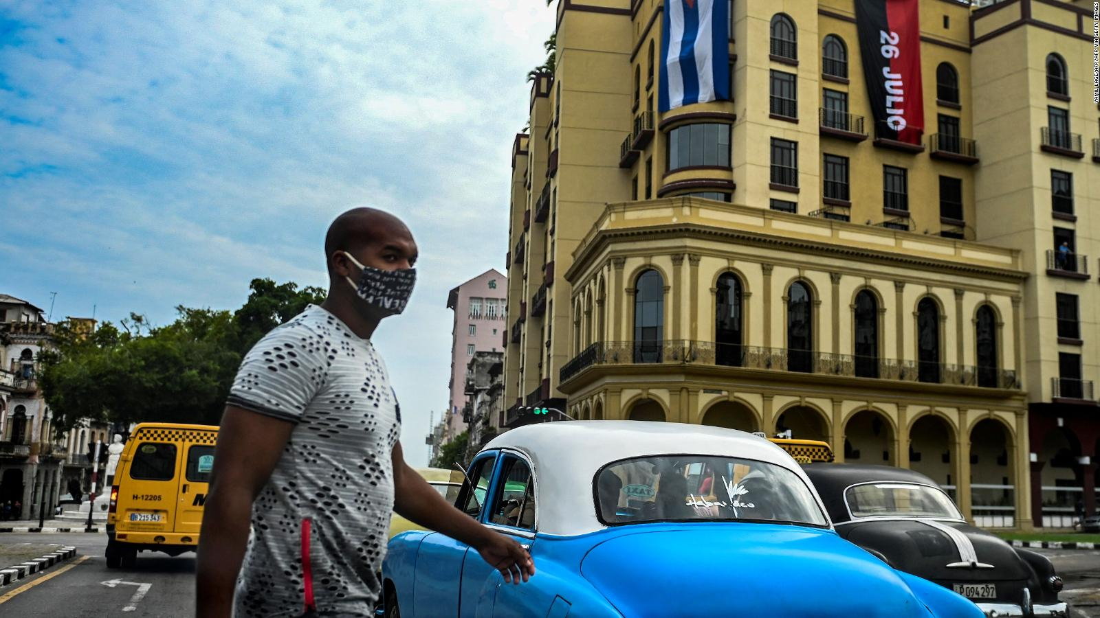 Do you think in Cuba that your government will accept assistance from the United States?