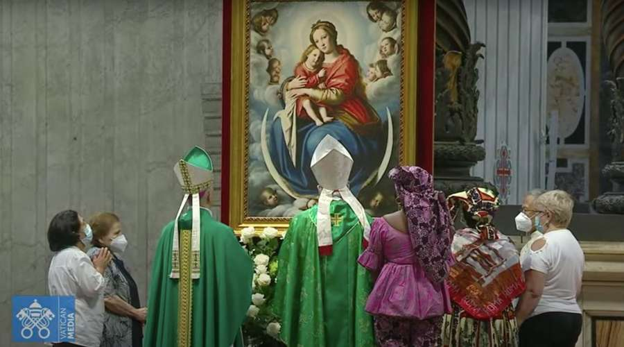 Mass in the Vatican on the occasion of the first World Day of Grandparents and the Elderly