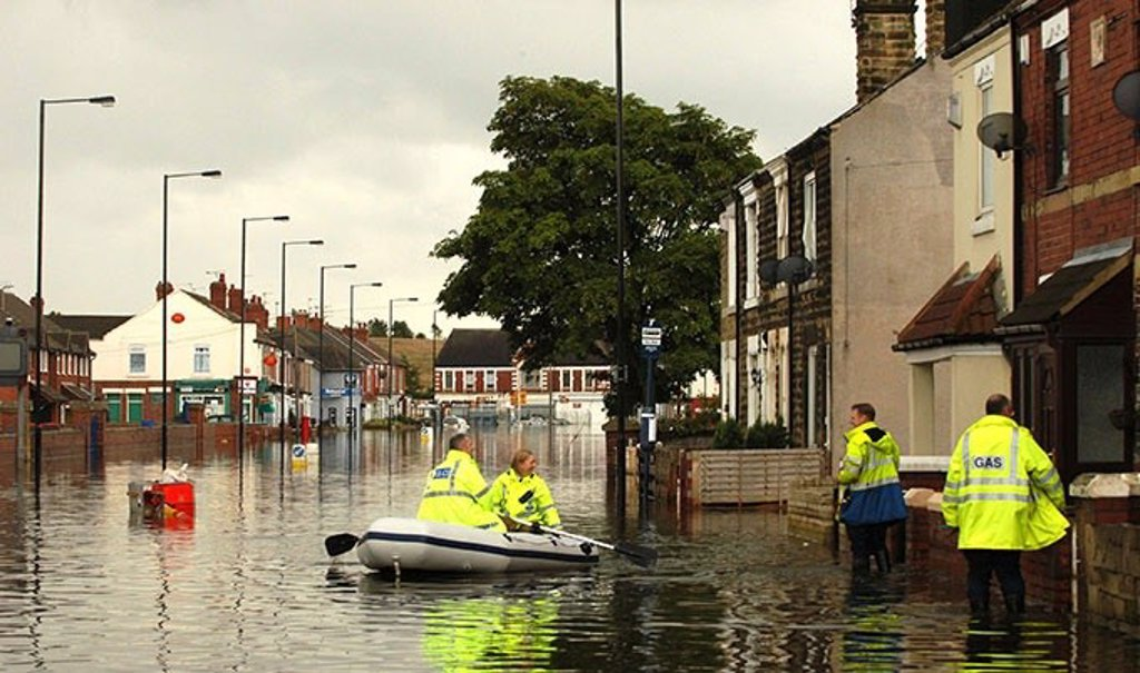 More storms like Germany's in Europe due to climate change