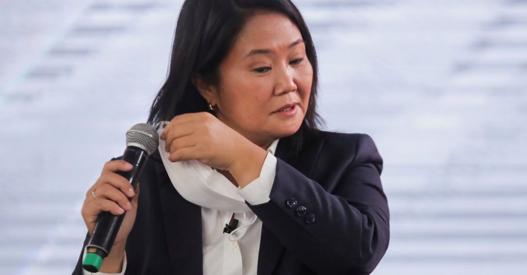 Peru: Keiko Fujimori is being investigated for accusing a former adviser of wanting to interfere in the Electoral Tribunal's work