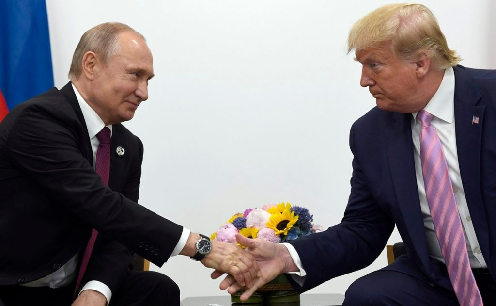 Russian documents indicate that Putin intervened to make Trump president of the United States