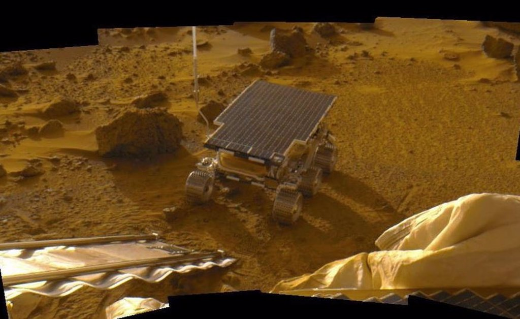 Sojourner, the first Mars rover, is 24 years old on the Red Planet