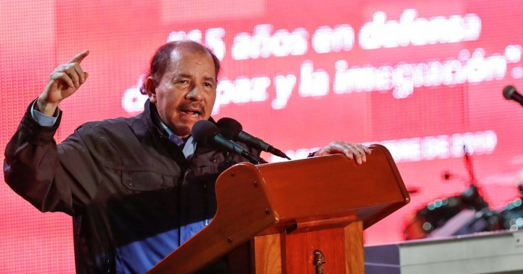 """The European Parliament has condemned the """"authoritarian drift"""" in Nicaragua and called for more sanctions against Daniel Ortega."""