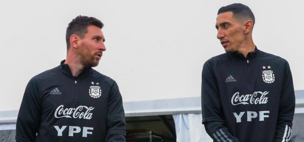 The win was a yes or a yes: Angel Di Maria revealed what Lionel Messi had told him before the Copa America final against Brazil.