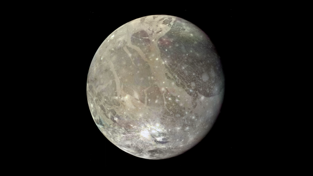 They could have detected water vapor in Ganymede's atmosphere