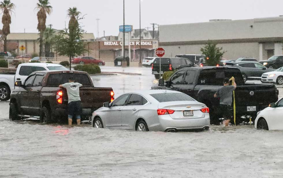 Two streets on the east side of El Paso closed due to flooding