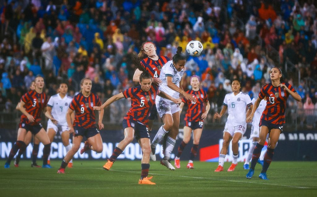USA vs Mexico (4-0): North Americans play Tricolor