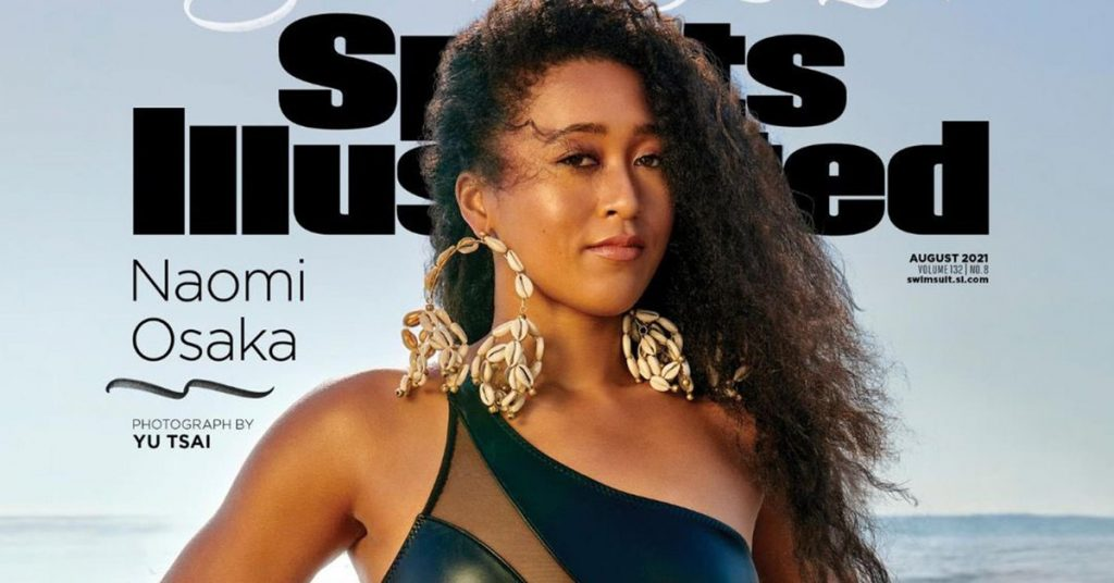 Within days of appearing again at the Olympics, Naomi Osaka featured her Sports Illustrated cover: 'I'm So Proud'