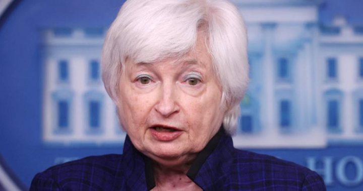 Janet Yellen, secretaria del Tesoro de EE UU.