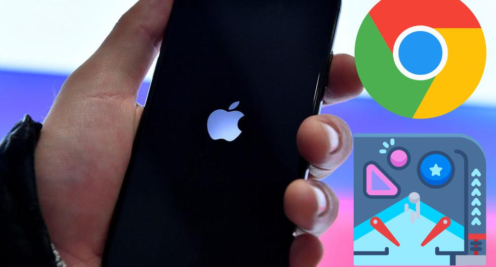 iPhone: So you can play the pinball that Google Chrome hides on iOS mobile phones |  Applications |  Applications |  Smartphone |  Mobile phones |  viral |  United States |  Spain |  Mexico |  Colombia |  Peru |  nda |  nnni |  SPORTS-PLAY