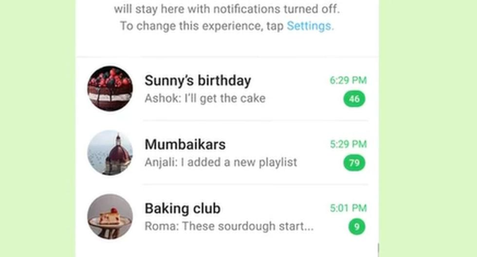 WhatsApp: The Trick to Hide a Private Conversation from the Main Chat Menu    Applications    Applications    Smartphone    Mobile phones    trick    Tutorial    viral    United States    Spain    Mexico    nda    nnni    Spor-Play
