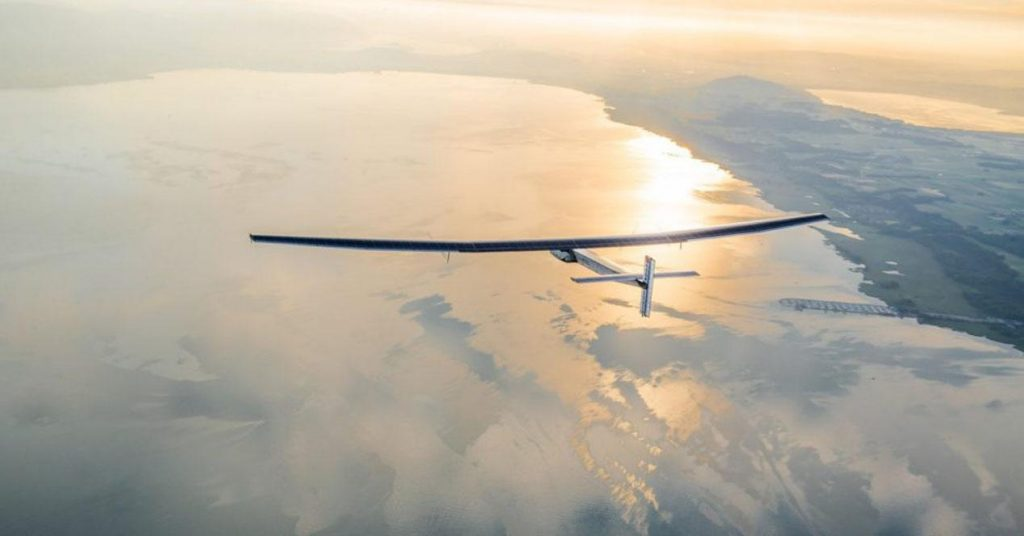 Created by the United States and Spain, this aircraft can fly 3 months without landing