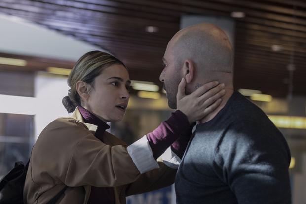 "Moran Rosenblatt interprets Tally Shapira's ""hit and run"" (Photo: Hit & Run/Netflix)"