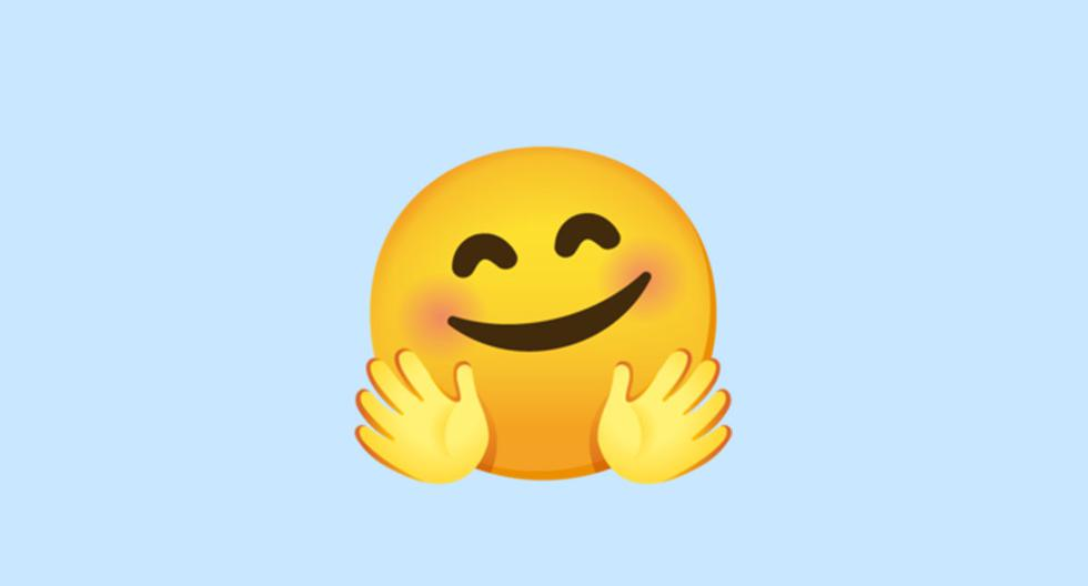 WhatsApp |  Does the face emoji with open hands mean |  face hugging |  Meaning |  Applications |  Applications |  Smartphone |  Mobile phones |  viral |  trick |  Tutorial |  United States |  Spain |  Mexico |  NNDA |  NNNI |  SPORTS-PLAY