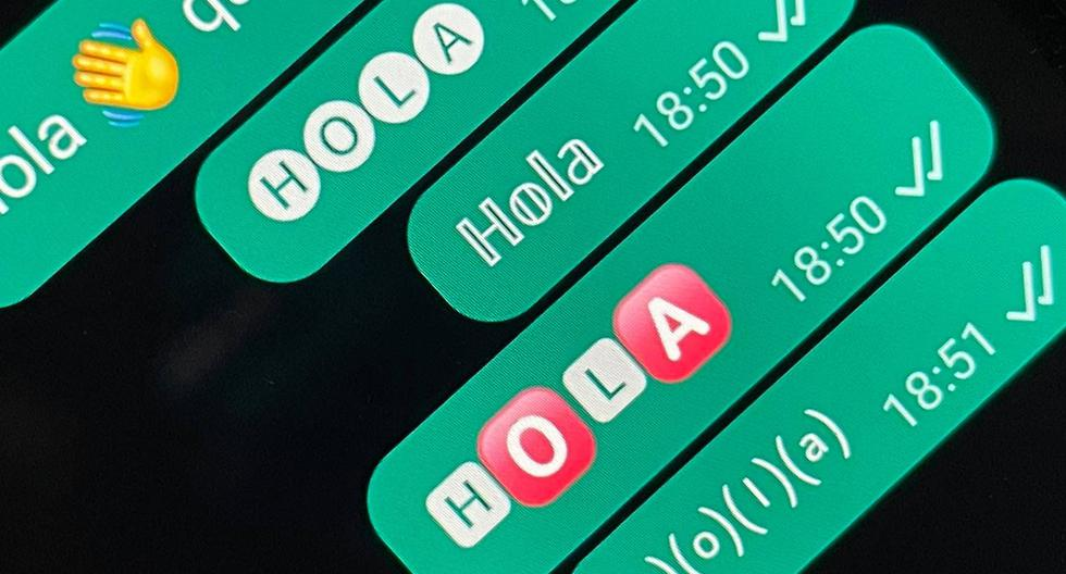 Unicode text converter for WhatsApp |  How to change the letters of your conversations |  Applications |  Applications |  Mobile phones |  Smartphone |  viral |  trick |  Tutorial |  United States |  Spain |  Mexico |  NNDA |  NNNI |  SPORTS-PLAY
