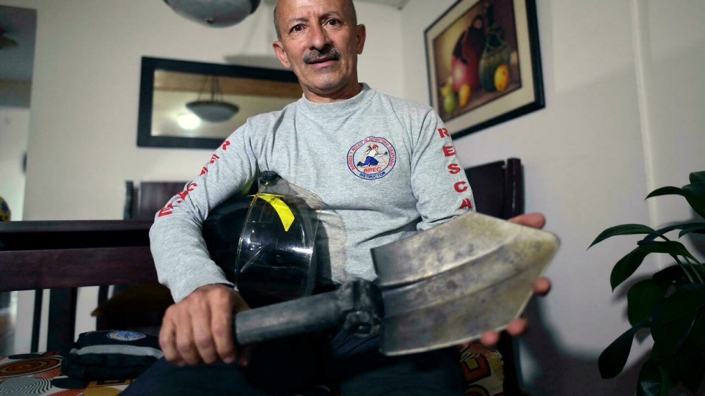"""20 years after 9/11, a Colombian firefighter asks: """"Could I have done more?"""""""
