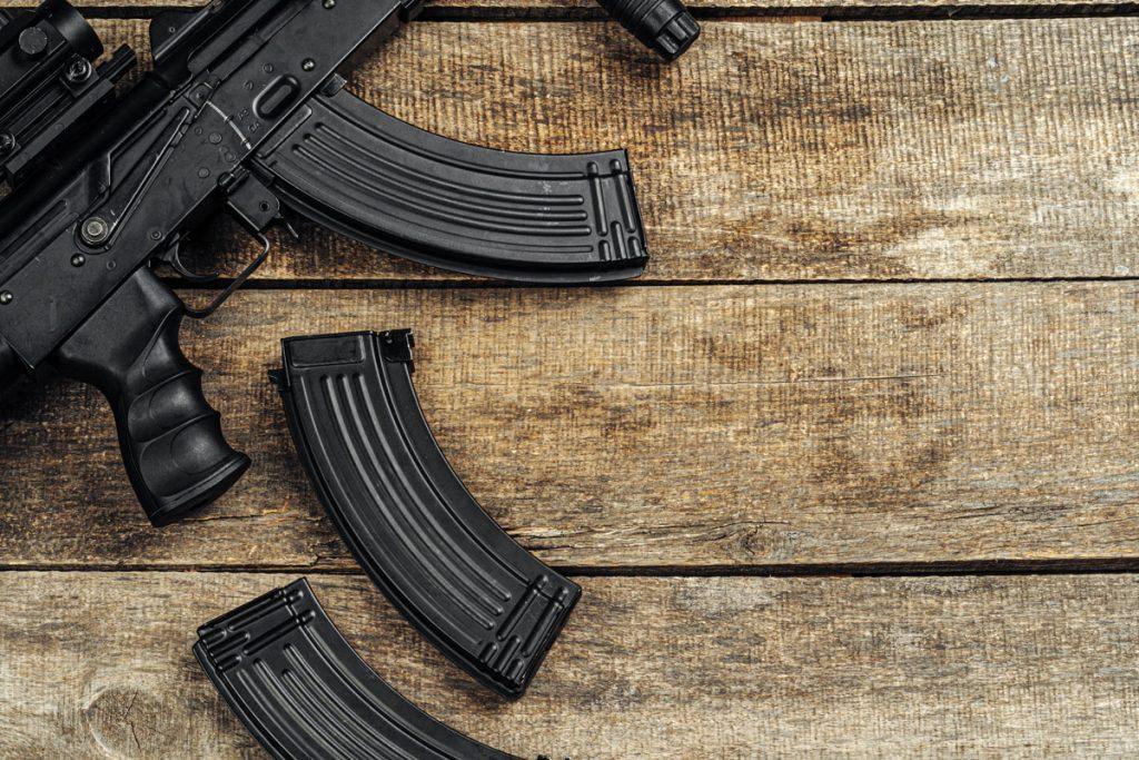 A Latino driver smuggled guns into a US consulate car