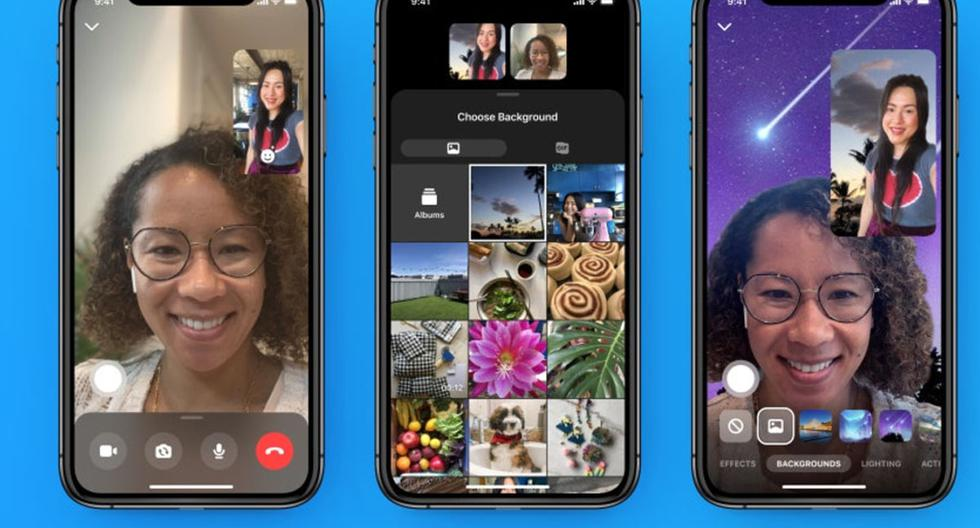 Facebook Messenger    How to set a default wallpaper for your video calls    Applications    Applications    Smartphone    Mobile phones    viral    trick    Tutorial    United States    Spain    Mexico    NNDA    NNNI    SPORTS-PLAY