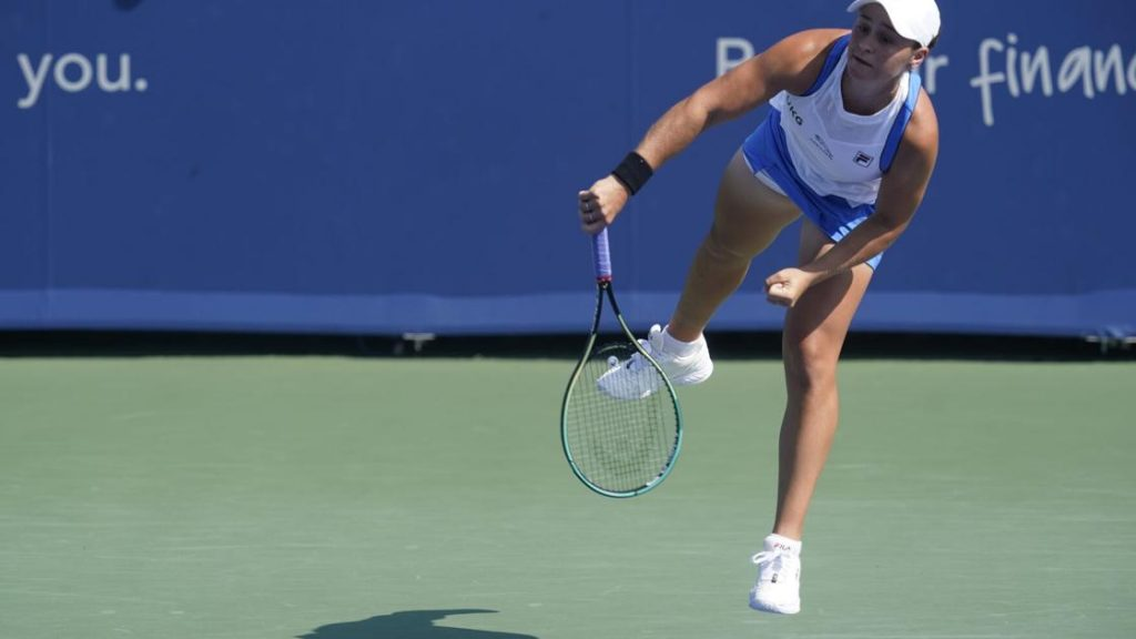 Barty beats Krejcikova to reach semi-finals in Cincinnati |  Sports