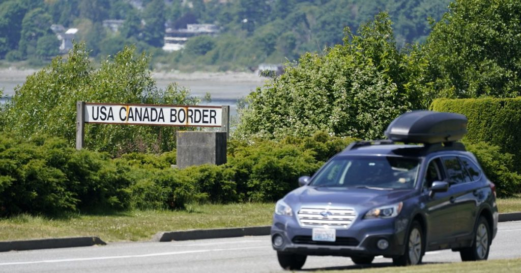 Canada opens its borders to Americans who have been vaccinated in exchange for vaccinations.  COVID-19 - El Financiero