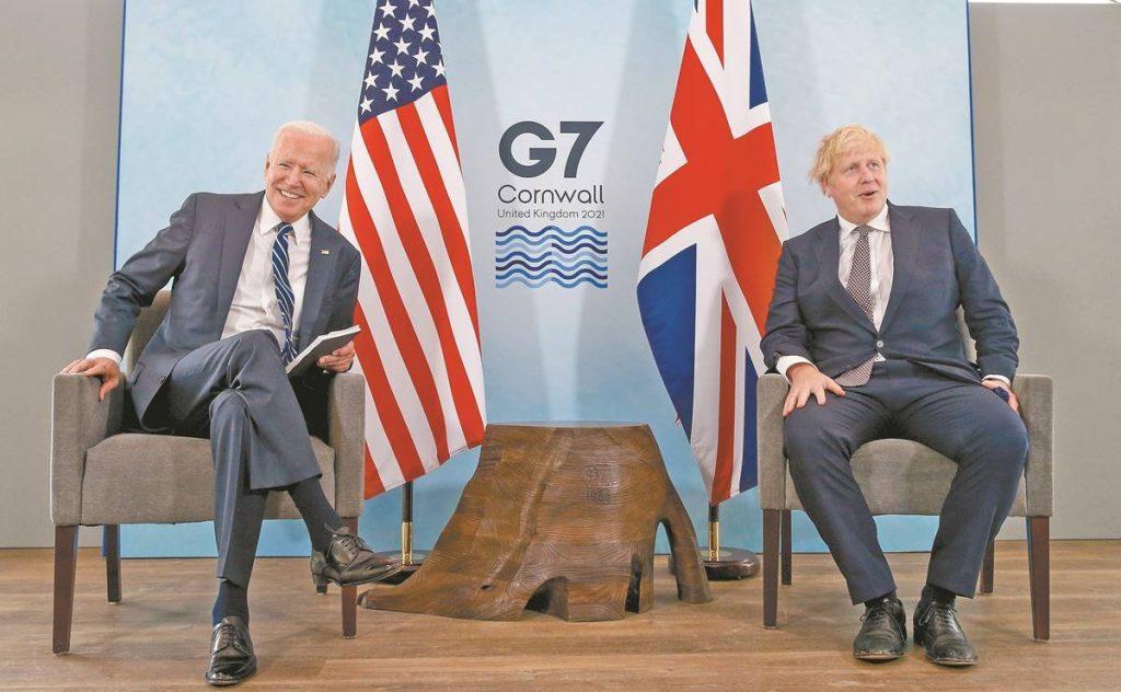 Joe Biden y Boris Johnson convocan una cumbre de líderes del G7 sobre Afganistán
