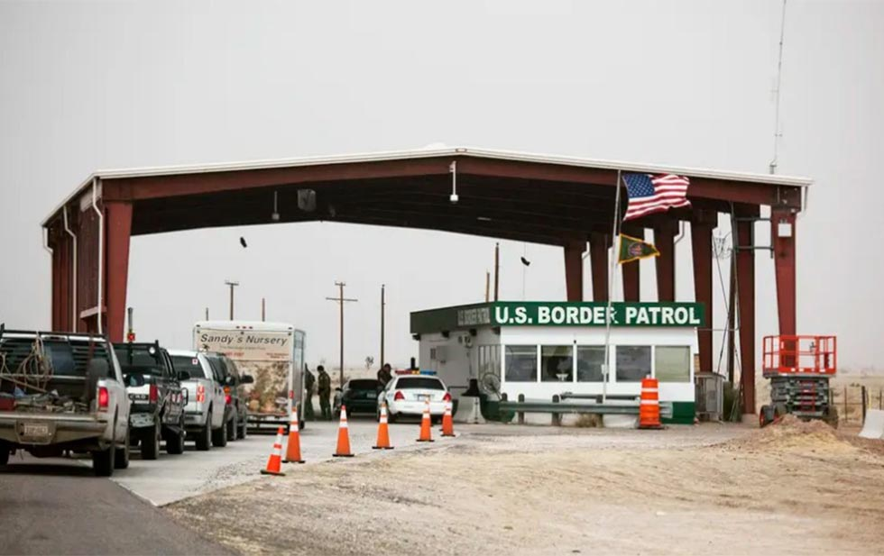 Man arrested for assaulting a border guard