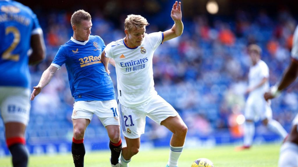 Martin Odegaard, close the matter between Arsenal and Real Madrid