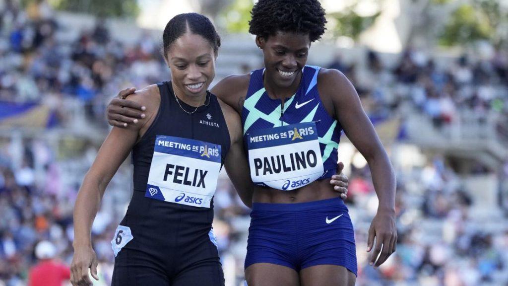 Paulino, winner of the 400m in Paris    Sports