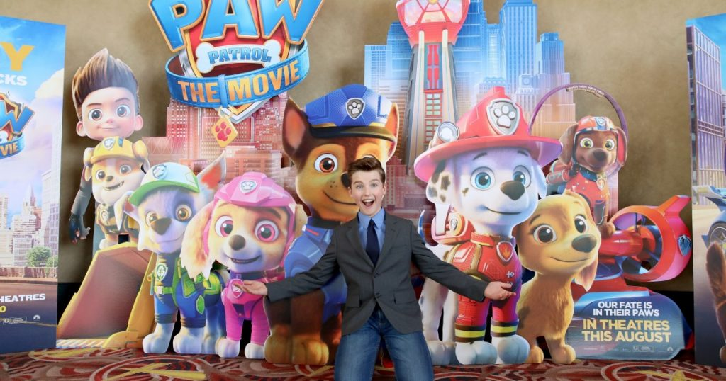 Paw Patrol barks sneak into theaters