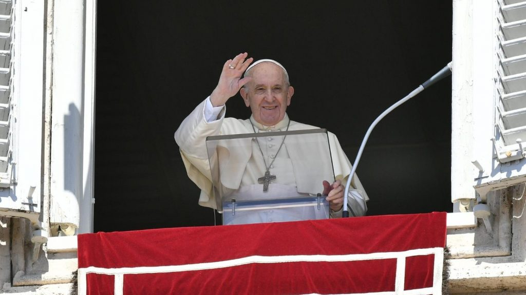 Pope's Angels: Don't waste time blaming others