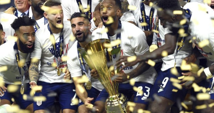 The USA coach said he got the 'best birthday present' after beating Mexico in the Gold Cup