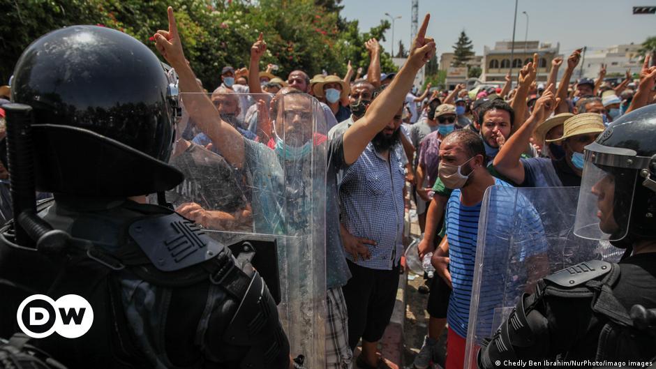 "The United States urges Tunisia to restore the world's ""democratic path""    DW"