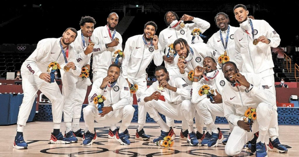 The dream team is guaranteed an Olympic title