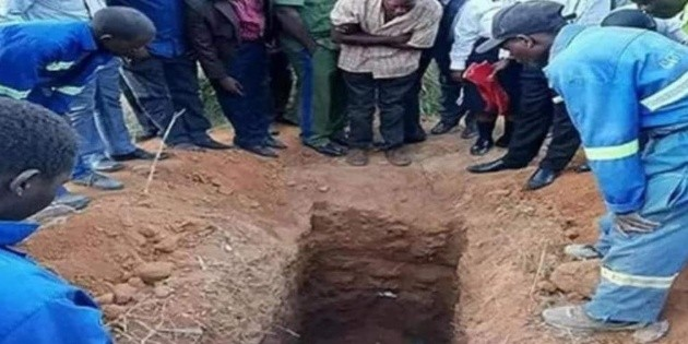 The priest died after being buried alive;  I wanted to rise like Jesus Christ
