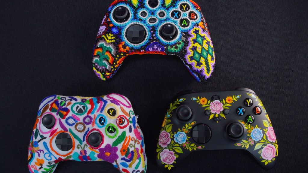 This is what Xbox consoles celebrating indigenous communities in Mexico look like: a cultural legacy